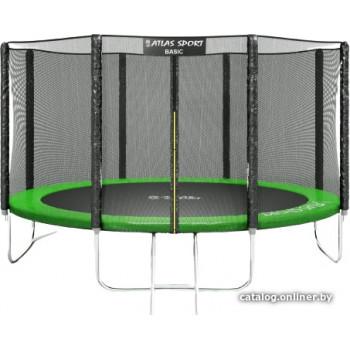 Atlas Sport 374 см - 12ft Basic (с лестницей, зеленый)