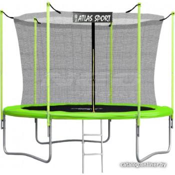 Atlas Sport 252 см - 8ft (с лестницей, внутренняя сетка, зеленый)
