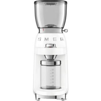Кофемолка Smeg CGF01WHEU (белый)