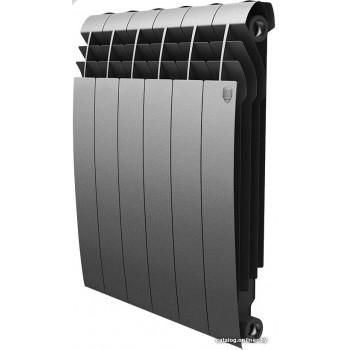 Радиатор отопления Royal Thermo BiLiner 500 Silver Satin (4 секции)