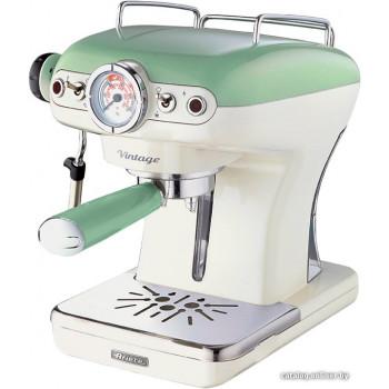 Кофеварка и кофемашина Ariete Vintage 1389 (зеленый)